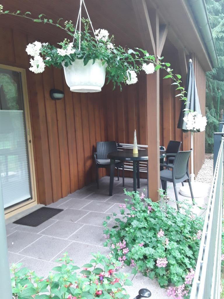 Terrasse Ferienhaus Kasch